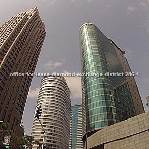 משרדים להשכרה במתחם הבורסה מספר קטלוגי 286