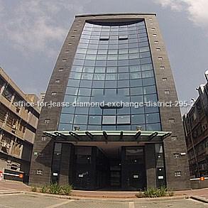 משרדים להשכרה - במתחם הבורסה - מספר קטלוגי 295