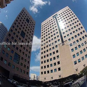 משרדים להשכרה במתחם הבורסה מספר קטלוגי 307