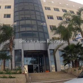 משרדים להשכרה - בלוד - מספר קטלוגי 798