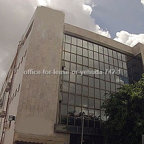 משרדים להשכרה באור יהודה מספר קטלוגי 742