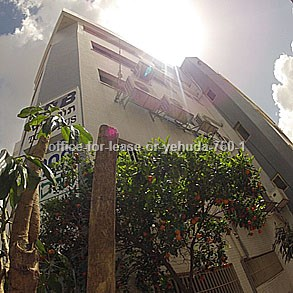 משרדים להשכרה באור יהודה מספר קטלוגי 760