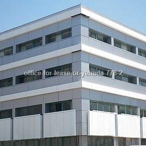 משרדים להשכרה - באור יהודה - מספר קטלוגי 778