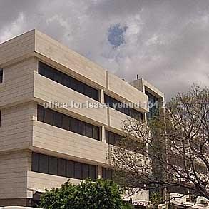 משרדים להשכרה - ביהוד - מספר קטלוגי 154